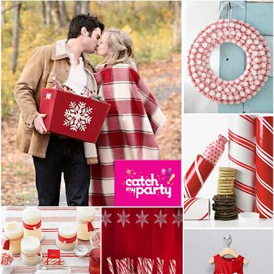 Christmas Party Ideas | Candy Cane Holiday Celebration