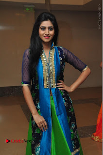 Actress Model Shamili Sounderajan Pos in Desginer Long Dress at Khwaaish Designer Exhibition Curtain Raiser  0051.JPG