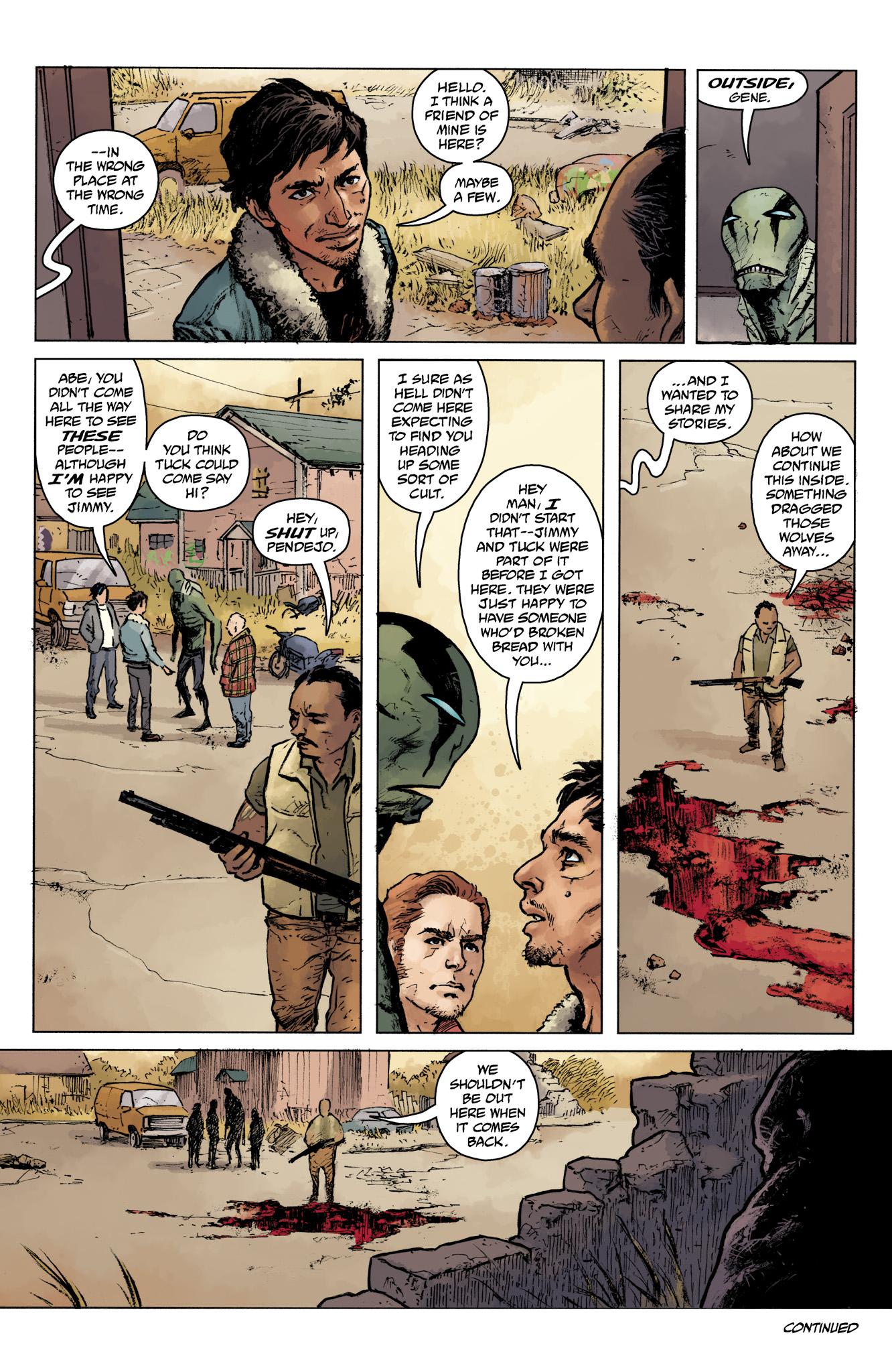Read online Abe Sapien comic -  Issue #16 - 24