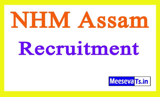 National Health Mission NHM Assam Recruitment Notification