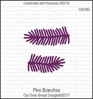 ODBD Custom Pine Branches Dies