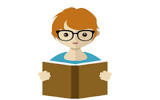 Insegnante che legge
