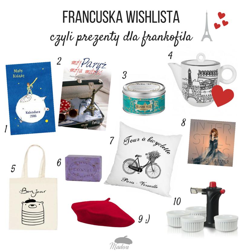 francuska wishlista i prezenty dla frankofila