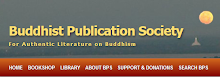 Buddhist Publication Society