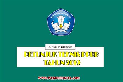 Download Juknis PPDB tahun 2019/2020 Kemdikbud Format PDF