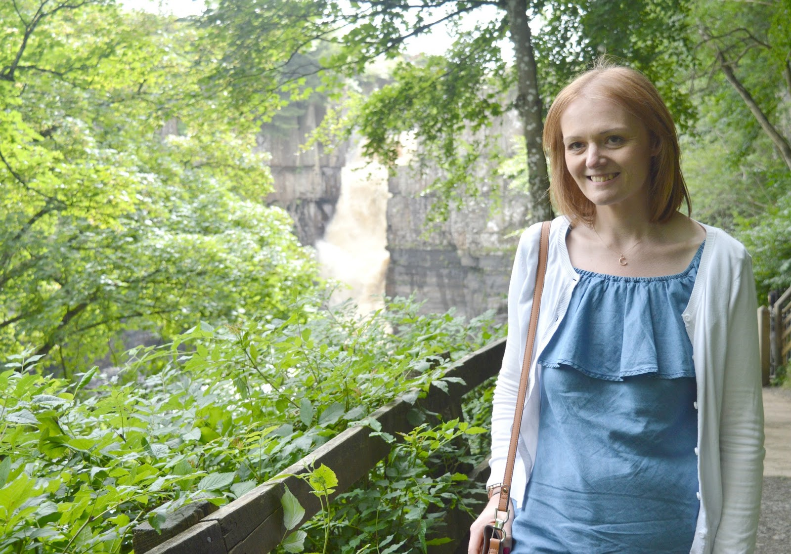 Romantic Dates for Valentines Day - High Force Waterfall