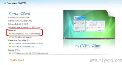 How To Activate Free 7 days Flyvpn Account