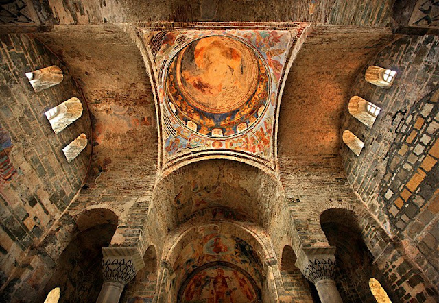 Frescoes, mosaics in Hagia Sophia of Trabzon to see the light again