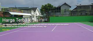 Biaya Pembuatan Lapangan Futsal Badminton Tenis Basket Volley Dll