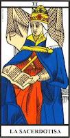 La Sacerdotisa- Tarot de Marsella