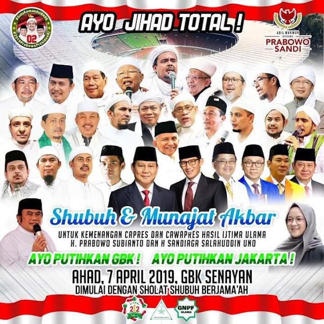 Ini Bocoran Materi Kampanye Akbar Prabowo-Sandiaga di GBK