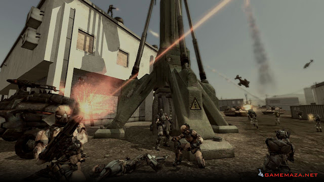 Enemy Territory Quake Wars Gameplay Screenshot 6
