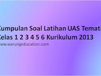 Kumpulan Soal UAS Tematik Kelas 1 2 3 4 5 6 Semester 1 Tahun 2017