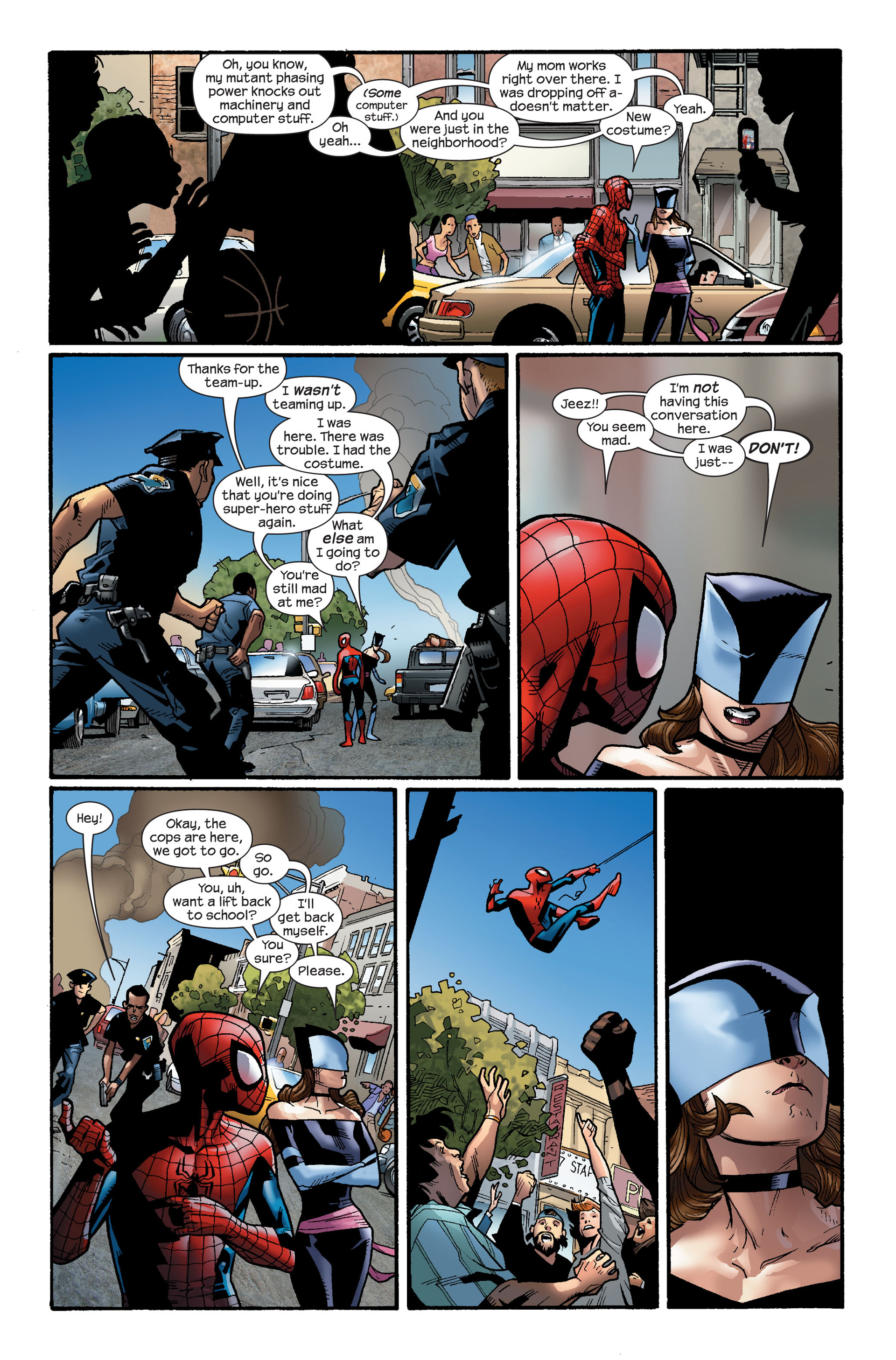 Read online Ultimate Spider-Man (2000) comic -  Issue #112 - 7