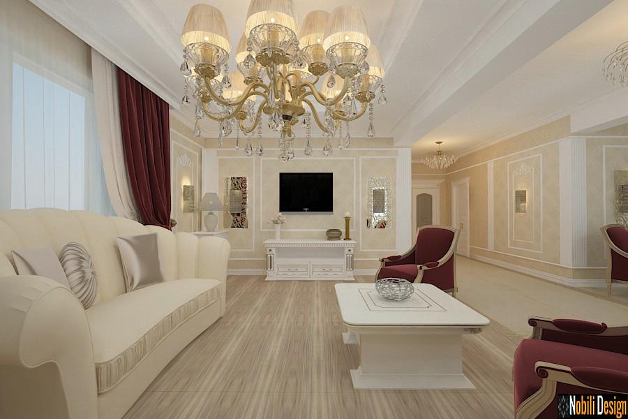 Design interior casa stil clasic de lux Bucuresti - Arhitect interior Bucuresti