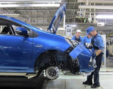 Fábricas da Toyota no Japão