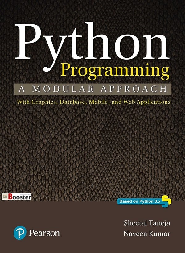 Python programming Book by Sheetal Taneja and Naveen Kumar