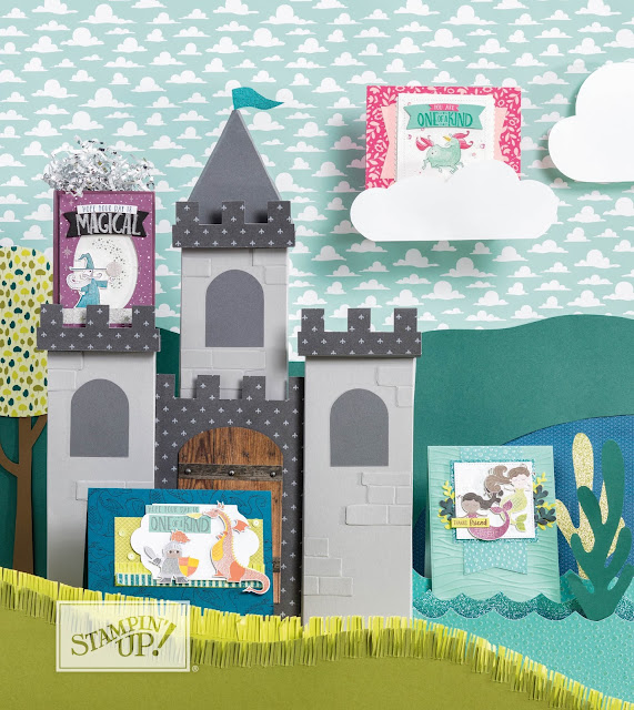 collection Au pays de l'imaginaire Stampin' Up!