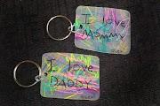 Personalized Shrinky Dink Keychains