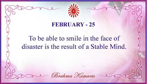 Thought For The Day February 25