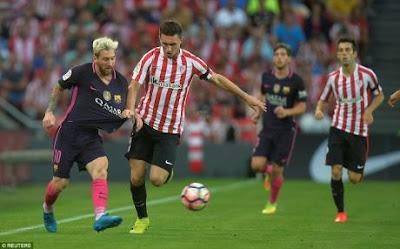 Barcelona đã có một chiến thắng nhọc nhằn trước Bilbao