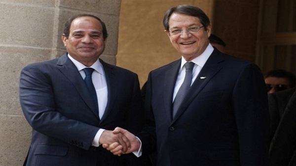 السيسي يشيد بالعلاقات الثنائية بين مصر وقبرص أمام البرالمان القبرصي