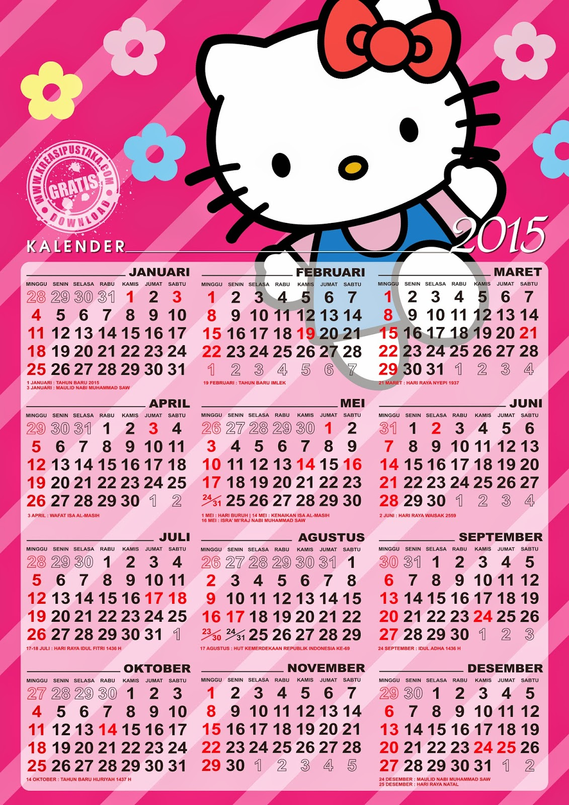 89 Gambar Hello Kitty Resolusi Tinggi Kekinian - Gambar ...