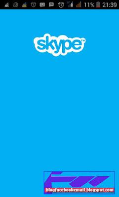 cara membuat akun skype android