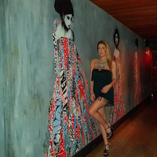 New York, ingresso del ristorante TAO. Alessia Siena