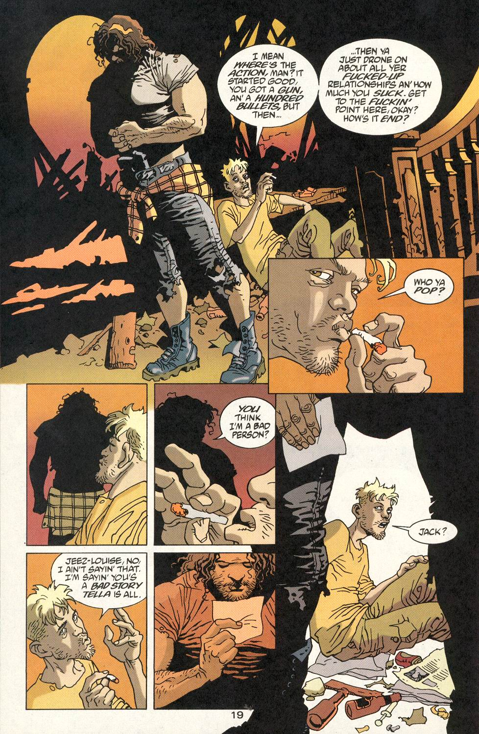 Read online 100 Bullets comic -  Issue #22 - 20