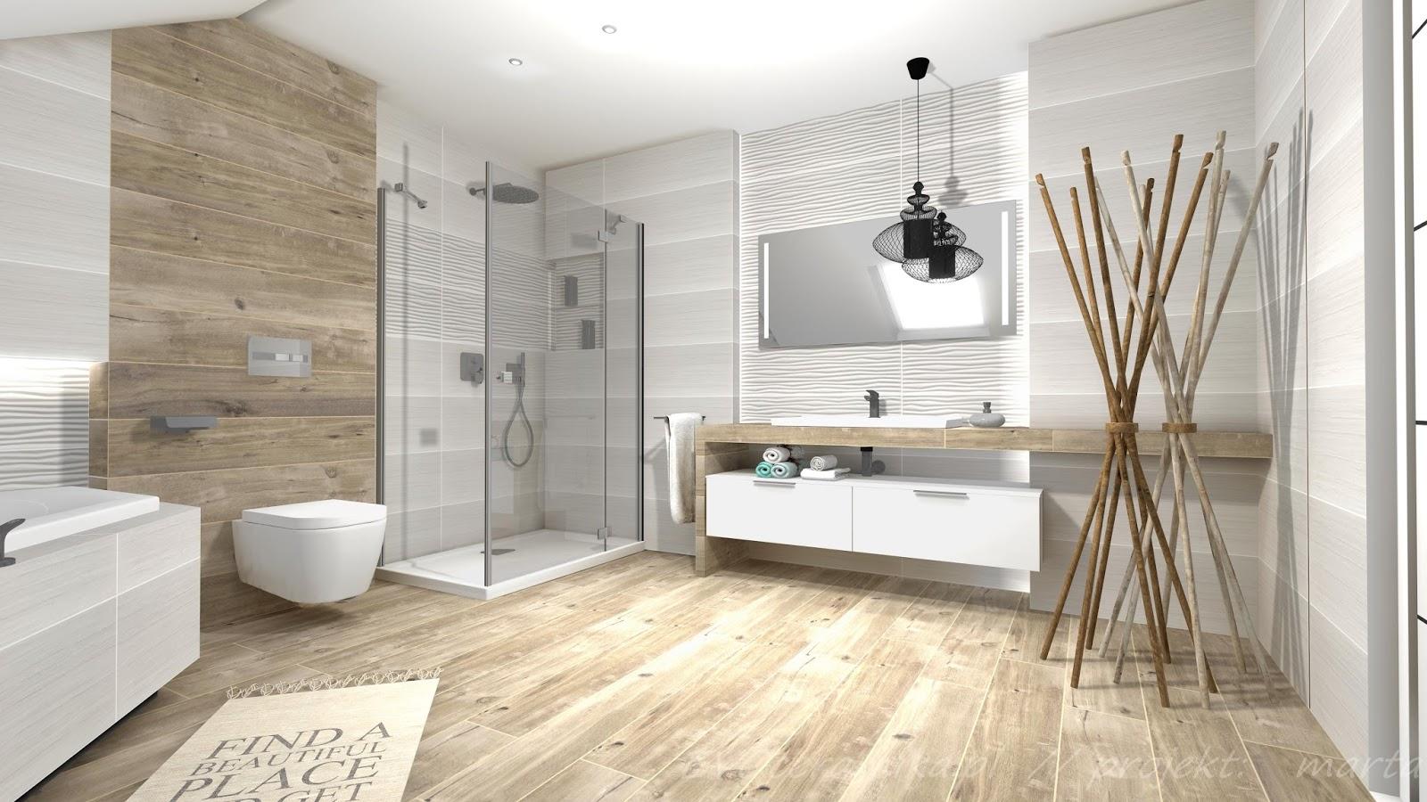 Projekty łazienek Lazienka Na Poddaszu 14 M2
