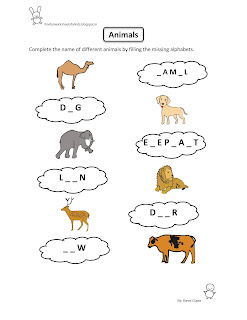 Free printable fun worksheet evs animals also worksheets for kids rh freefunworksheetsforkidsspot