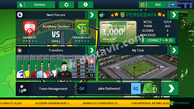 Dream League Soccer 2018 MOD Persebaya Base 5.03 (By Diptavir)