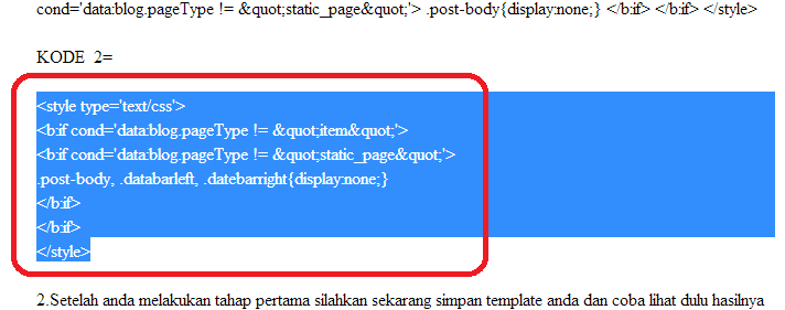 Cara Copy Paste Kode Kode Blog di Jasa SEO Blog