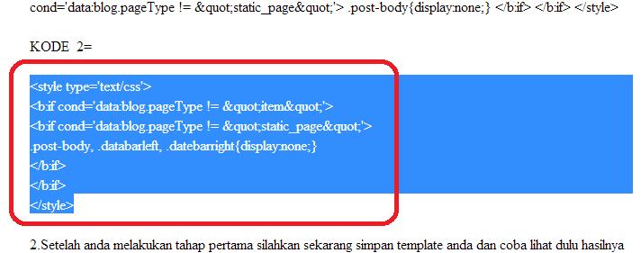 Cara Copy Paste Kode Kode Blog di Jasa SEO Blog