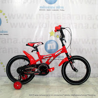 12 Inch Family Sport BMX Kids Bike Red