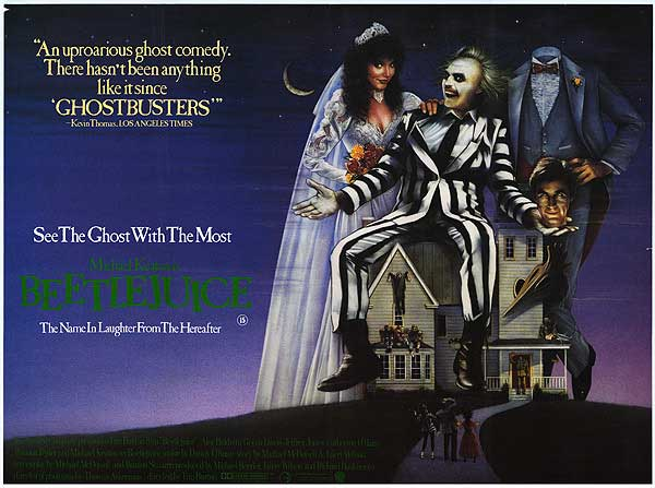 Beetlejuice (1988) Movie Poster