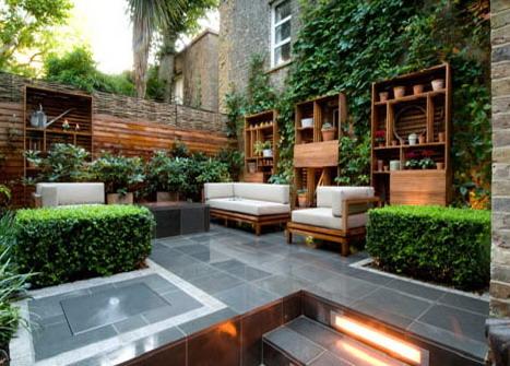 taman rumah minimalis dan tata letaknya