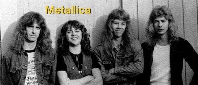 Metallica con Dave Mustaine