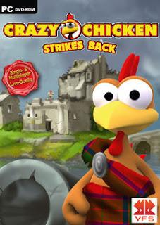 Download CRAZY CHICKEN Strikes Back PC Game Gratis