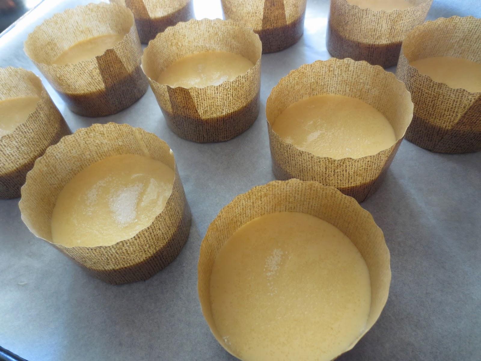 Bolos de arroz (Magdalenas portuguesas) Thermomix
