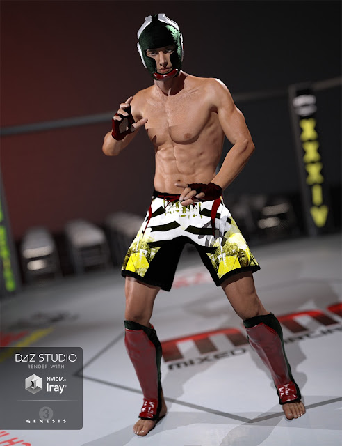 MMA Fighter Textures