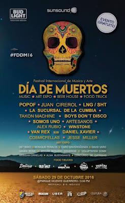festival de música y arte día de muertos mexicali 2016