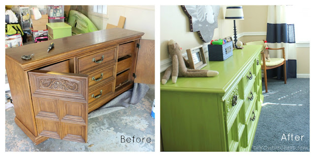Dresser Before and After