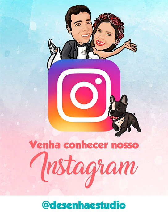Nos Siga no Instagram