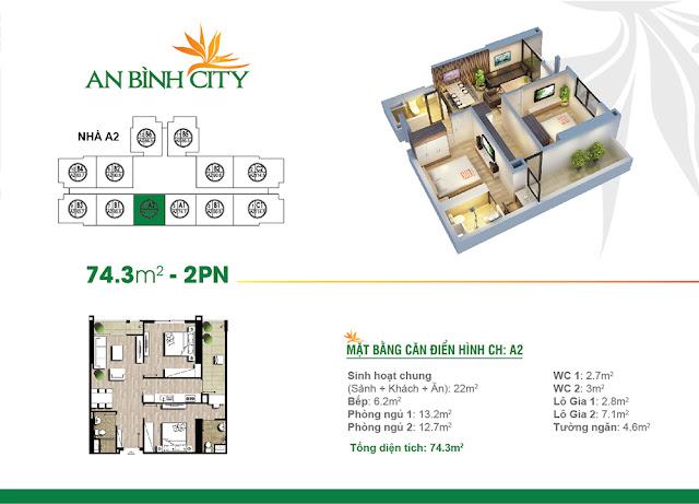 căn 74m2 chung cư An Bình City
