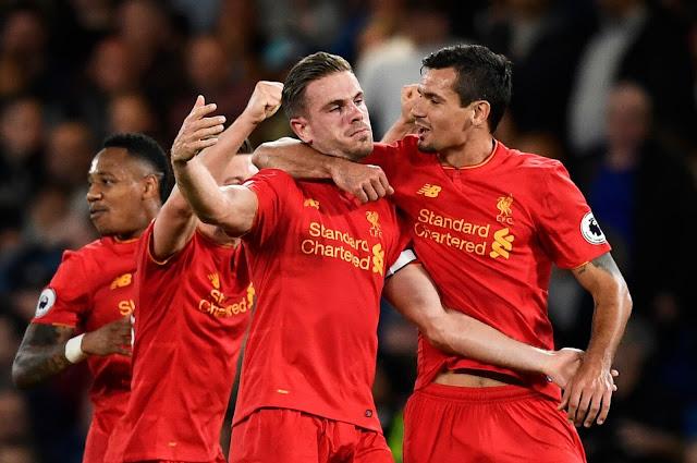 Jordan Henderson, Chelsea 1-2 Liverpool, EPL 2016/2017