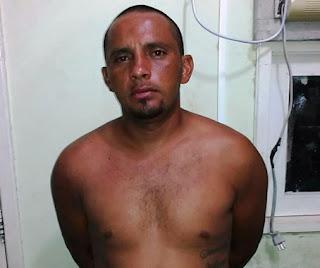 Elemento que agrediu esposa com faca é detido pela Guarda Municipal de Natal (RN) no bairro de Cidade Nova