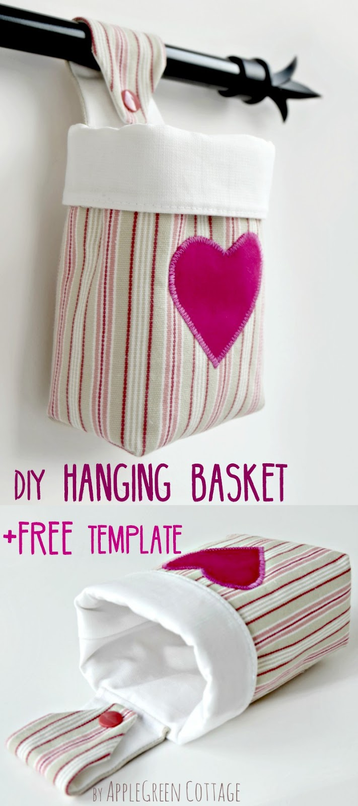 how to make string hanging baskets
