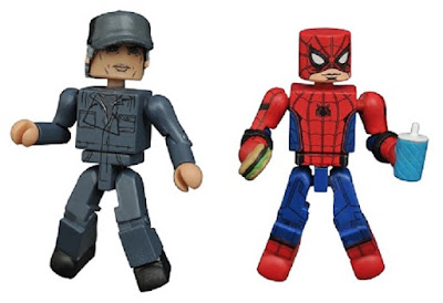 San Diego Comic-Con 2017 Exclusive Spider-Man: Homecoming Spider-Man vs. Adrian Toomes Marvel Minimates 2 Pack by Diamond Select Toys x Toys R Us